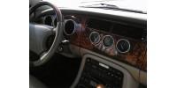 Aluminium instrument ring kit Jaguar XK8 & XKR
