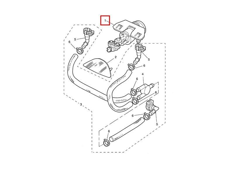 Gicleur de lave-phare Jaguar XK8
