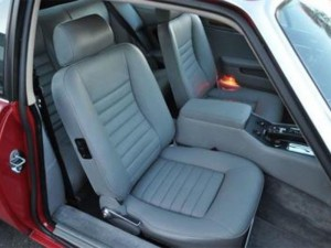 Leather seat covers Jaguar XJS 75 - 88