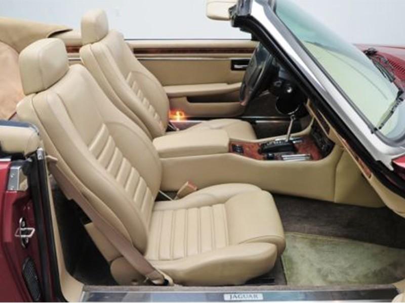 Leather seat covers Jaguar XJS 88 - 94