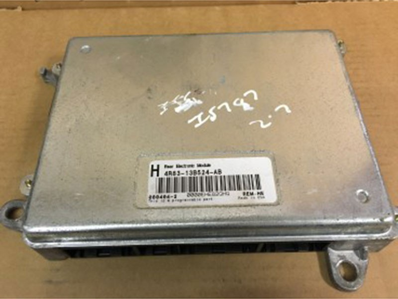 Rear electronic module 4R83-13B524-AB Jaguar S-Type
