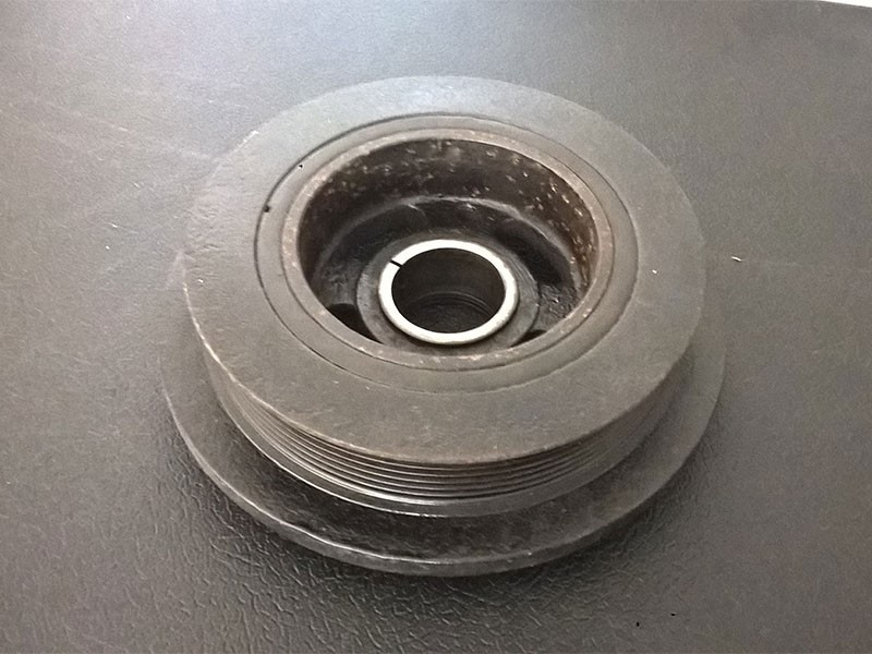Crankshaft Damper Pulley AJ81330 Jaguar XJ8 X308 / XK8 X100
