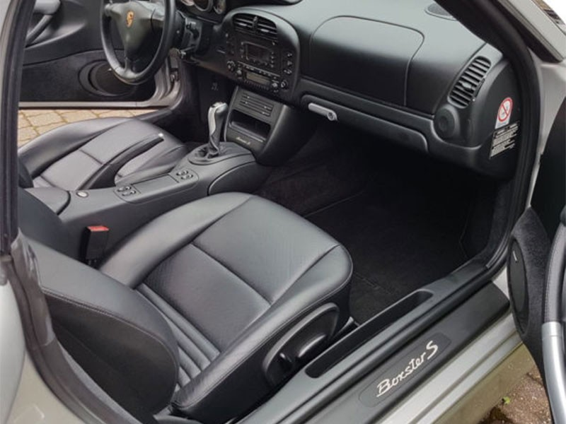 Porsche Boxster 986 Grainy Leather Seat Covers