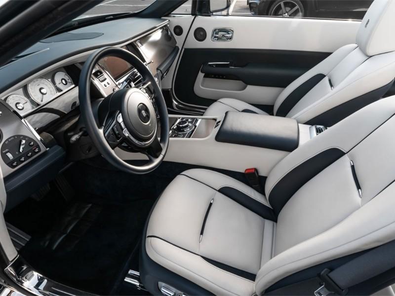 Luxury sheepskin floor mats Rolls Royce