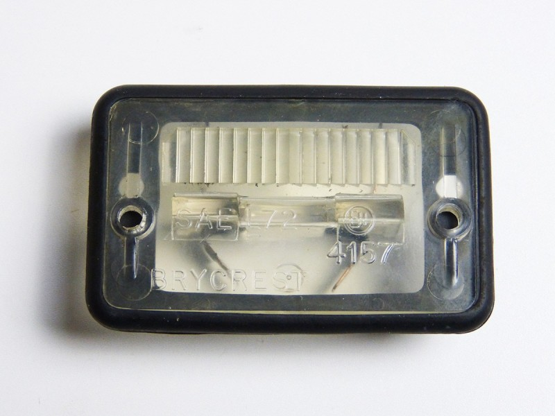 Number plate lamp DBC12441 Jaguar XJ40