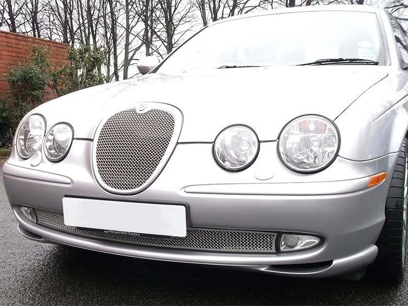 Grille de calandre argent Jaguar S-Type