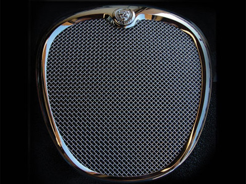 Grille de calandre argent Jaguar S-Type 2004 - 2007