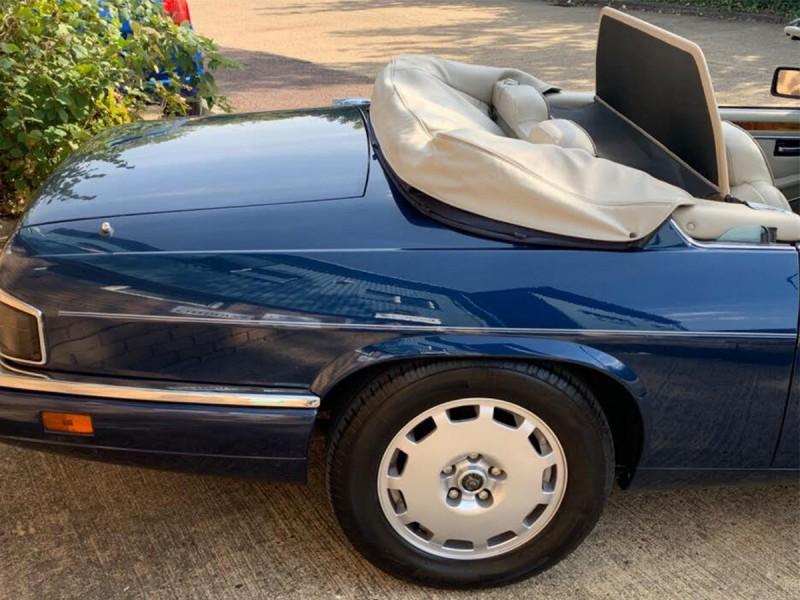 Couvre-capote Vinyle Jaguar XJS 94 - 96